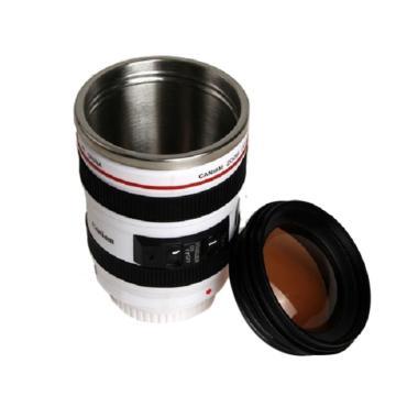 Caniam Lensa Canon Mug - Putih