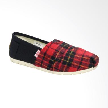 Wakai WAK-SW017BG-AKA Sepatu Unisex - Red