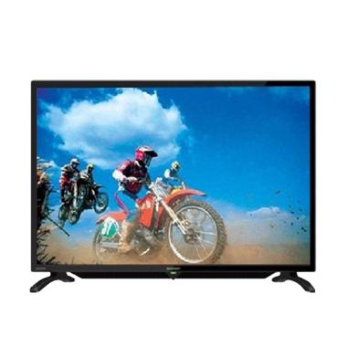 SHARP LC-32LE179I 32LE179 TV LED - Hitam [32 Inch]
