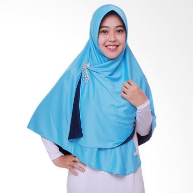 Pricilla Bolak-Balik P11 Jilbab Instant - Ocean Blue