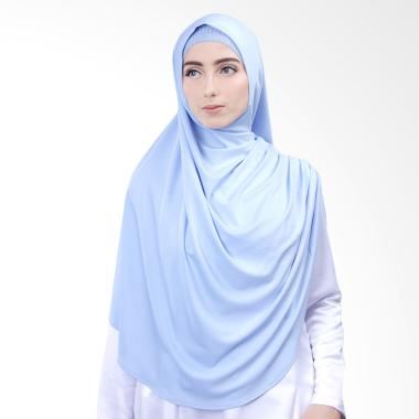 Cantik Kerudung Nazwa Jilbab Instan - Powder Blue No.7