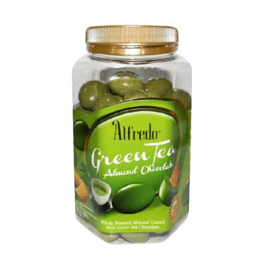 harga Alfredo Green Tea Almond Chocolate [450 g] Blibli.com