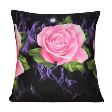 Monalisa Motif Flame Sarung Bantal Sofa [40 cm]
