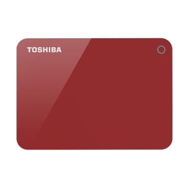 Toshiba - Canvio Advance HD Eksternal [3 TB/USB 3.0/2.5 inch] Red