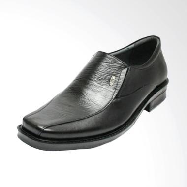 Handmade Sepatu Pantofel Pria - Hitam [175]