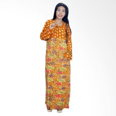 Batik Alhadi RLD001-14E Daster Bati ... Baju Tidur Lengan Panjang