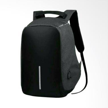 OEM Waterproof Anti-Theft Backpack  ... USB Charging Port - Black