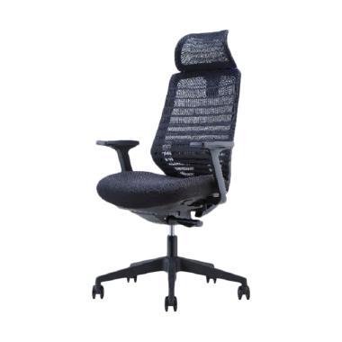 HighPoint ESP003A Fontana Kursi Kantor - Black