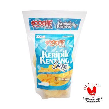 Parigel Sooshie Keripik Kentang Crispy Potato [50 gr]