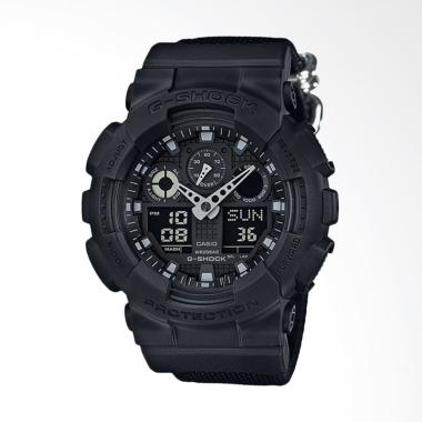 Casio G-Shock Special Color Models Jam Tangan Pria [GA-100BBN-1ADR]