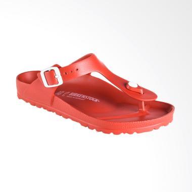 Birkenstock Gizeh 128231 Sandal Wanita - Red / Eva Red