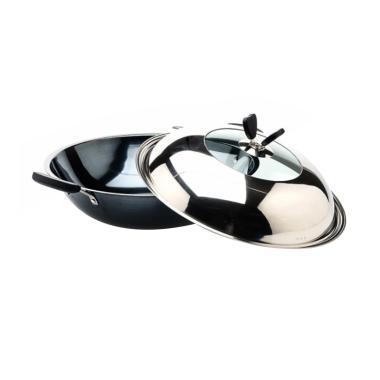 Nakami Wok Pan Wajan - Black Diamond [38 cm]