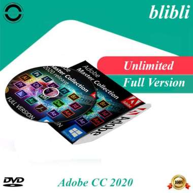 harga Adobe CC 2020 Master Collection CC 2020 Untuk Windows 10 Full Version Aktif Selamanya Blibli.com