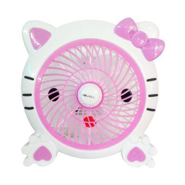 Welhome WH-170H Karakter Hello Kitty Kipas Angin Meja