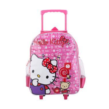 Catenzo Junior CRZ006 Hello Kitty B ... r Tas Sekolah Anak - Pink