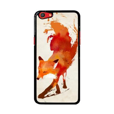 Flazzstore Watercolor Art Orange Re ... Custom Casing for Oppo F3