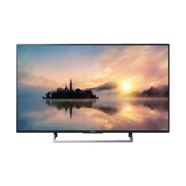 SONY KD-49X7500E TV LED - Hitam [49 Inch]