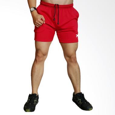 FLEX Super Quick Dry Celana Olahraga Pria - Red