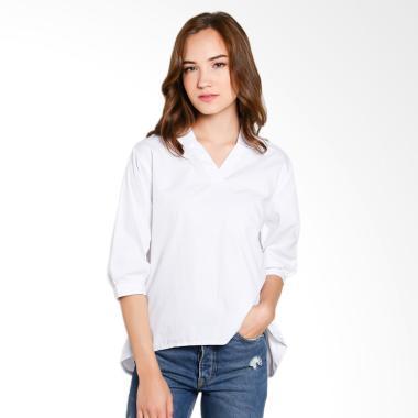 Just Fashion Atasan Wanita - Putih