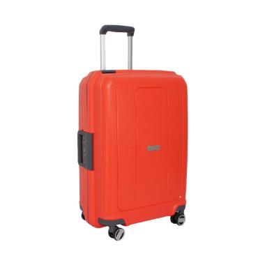 Navy Club Frame Hardcase Fiber PP 4 ... oper - Red [Size 20 Inch]