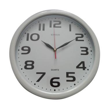 Winston Elegant Jam Dinding - Putih ac751b1753