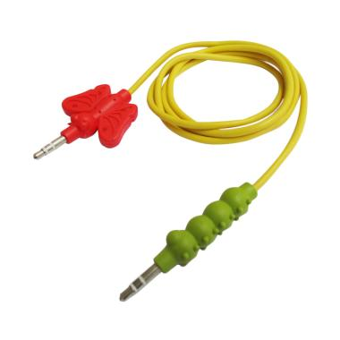 Griffin KAZOO Kabel AUX Audio 3.5mm Stereo - Kuning