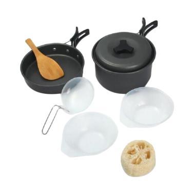 JongkoDerull Nesting Panci Cooking ... Peralatan Memasak [8 pcs]