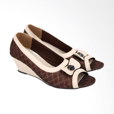 Catenzo Sepatu Wedges Wanita