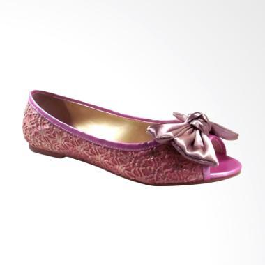 Beauty Shoes BE - EL 126 Flat Sepatu Wanita - Pink