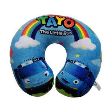 SEULGI 0960020360-3 Tayo Boneka Bantal Leher - Blue