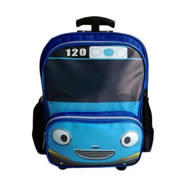 Tayo 0930010543 Tas Trolley Anak - Blue