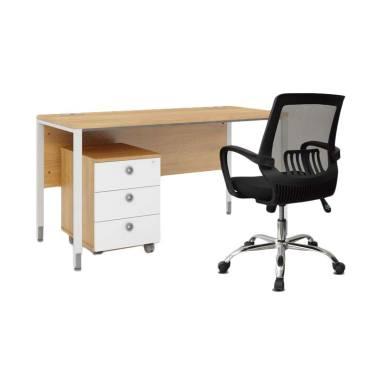 HighPoint Terra01 + FAR001 Kozy Ter ...  Kantor dan Kursi - Black