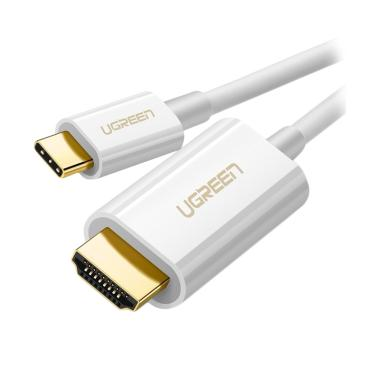 Ugreen MM121 USB Type-C to HDMI Cable - Putih [1.5 m]