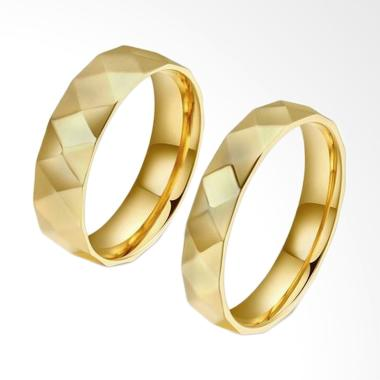 CDHJewelry CC107 Titanium Anti Kara ...  Gold [Female 5 & Male 8]