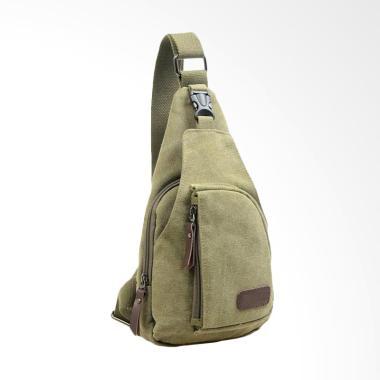 Hoky Bags Bodypack Tas Selempang Pria - Green