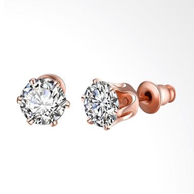 SOXY AKE054 Fashion K Gold Selling  ... nd Zircon Ladies Earrings