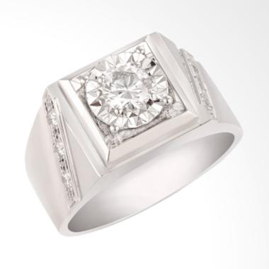 Posh Jewellery Reflection Collection Cincin Men's Ring [KH129]