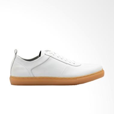 Brodo Origin Gum Sole Sepatu Sneakers Pria - White