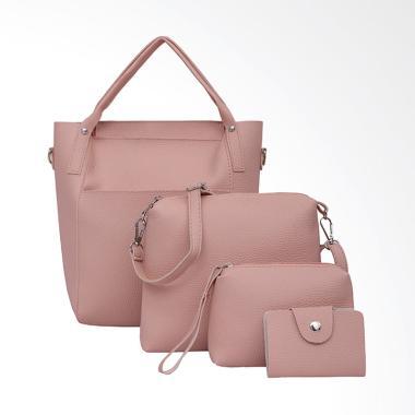 Lansdeal Women Set Tas Wanita - Pink [4 pcs]