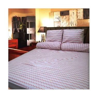 Berlian's AN057 Set Sprei - Pink [Single Size]