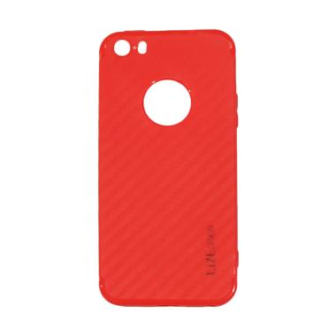 Lize Design Carbon iPhone 5G Candy  ... e 5S / Iphone 5SE - Merah