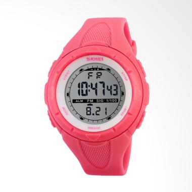 Skmei 1074 Digital Jam Tangan Wanita - Hot Pink