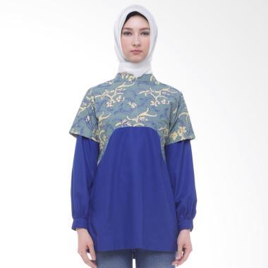 Arya Putri Batik Harita ATM-008-GyB Baju Batik Muslim Wanita