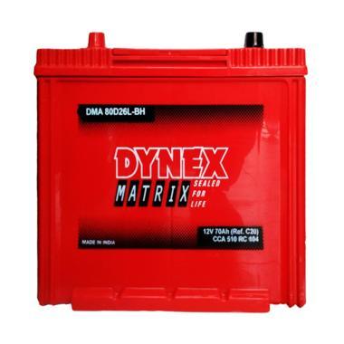 Dynex 80D26L Aki Kering Mobil [12 V/ 70 AH]
