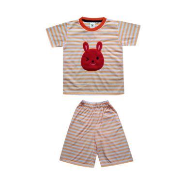 MacBear Bunny Wink Stripes Setelan Baju Anak