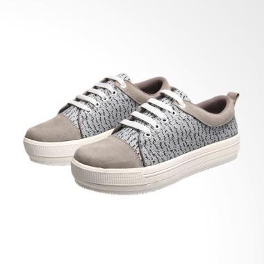 Syaqinah 050 Sepatu Sneakers Wanita - Abu