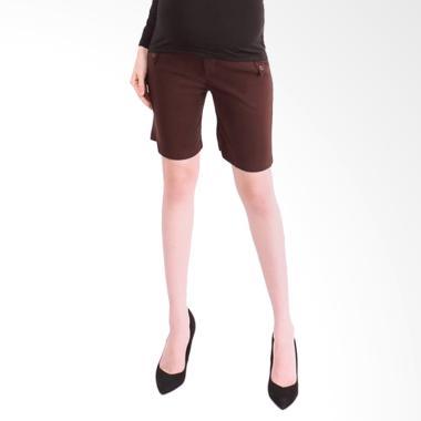 Eve Maternity LCD040B Pendek Celana Ibu Hamil - Brown