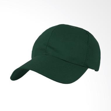 Elfs Shop Twill Polos Baseball Cap Topi Pria - Hijau Tua