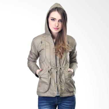 Inficlo SFC747 Parka Outdoor Fashion Jaket Wanita - Krem