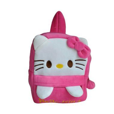 Hello Kitty 0930010534-3 Tas Sekolah Anak - Pink Fanta